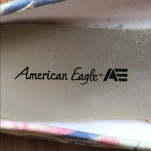 American Eagle By Payless Shoes - American Eagle multi color ballet flats.